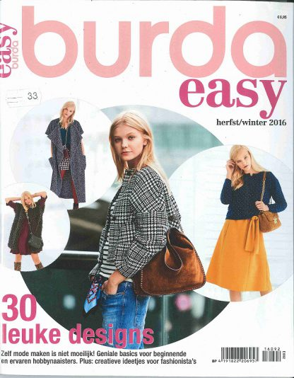 Burda Easy herfst-winter 2016