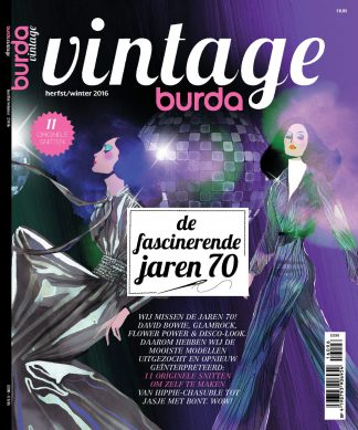 Burda Vintage herfst winter 2016 seventies jaren 70 cover