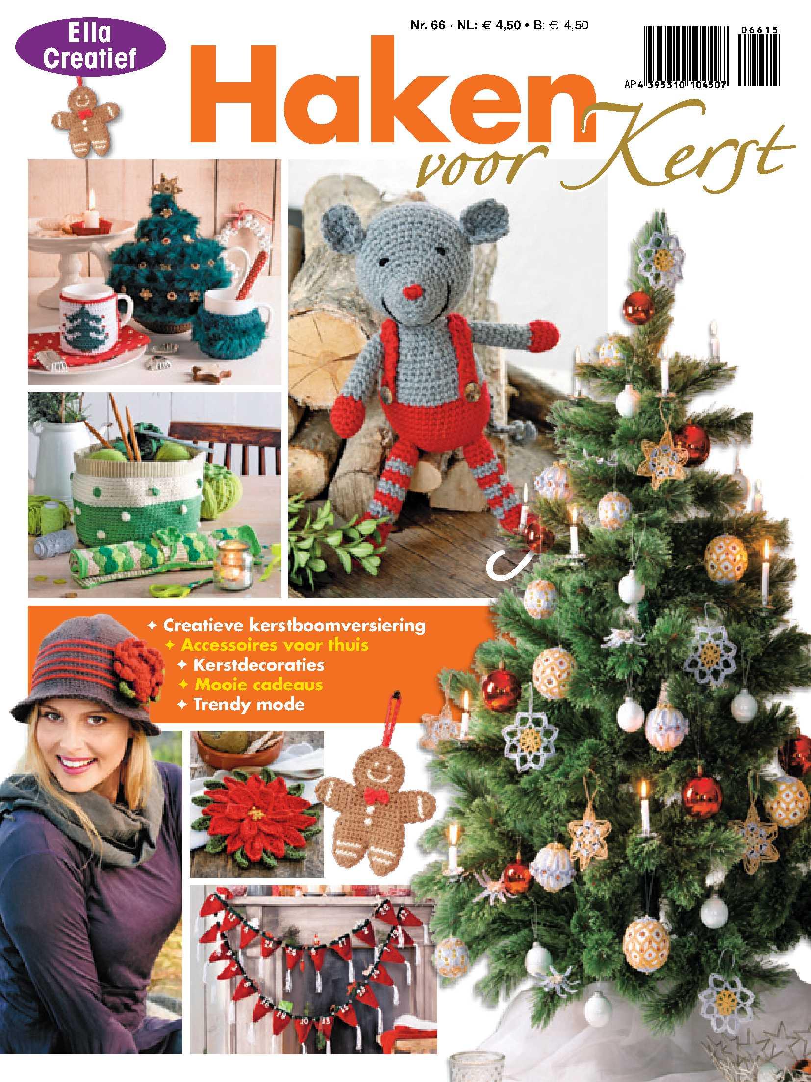Ella Creatief Haken voor Kerst 66 2015